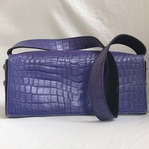 Alligator  Escada handbag and matching belt